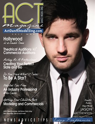 ACT Dance Model Sing Magazine Issue 35