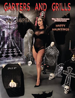 Lady Vampira Happy Hauntings