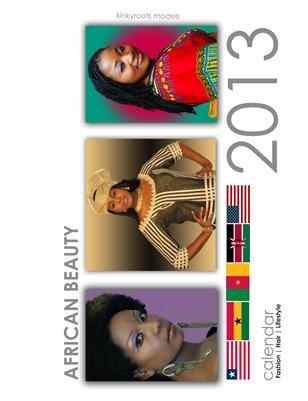 2013 African Beauty Calendar