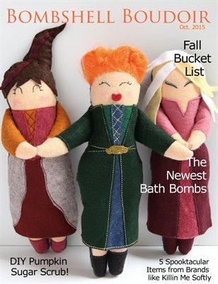 Bombshell Boudoir: Oct. Issue, 2015
