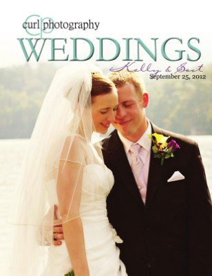 Curl Photography - Lake Lure Wedding NC - Proof Book