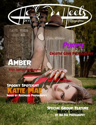 2017 Hell on Heels Magazine Issue #60 Classic Horror