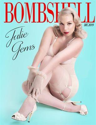 BOMBSHELL Magazine December 2019 BOOK 2 - Julie Gems Cover