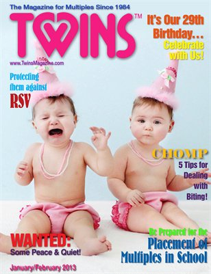 TWINS January-February 2013 29th Anniversary Issue