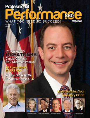 Reince Priebus Edition - PERFORMANCE/P360 Magazine - V. 22, I. 1