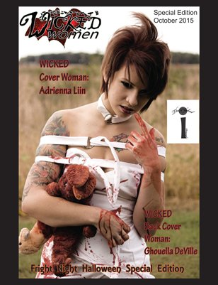 WICKED Women Magazine- Fright Night Halloween Special Edition: October 2015