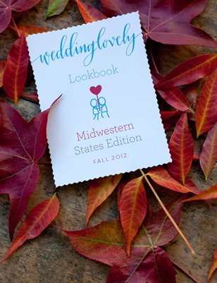 Midwestern US Edition: WeddingLovely Lookbook, Fall 2012