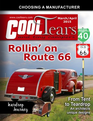 Cool Tears and Tiny Campers Magazine - March / April 2015