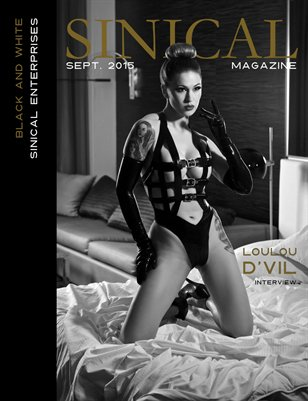 Sinical Black and White - Loulou D'Vil Cover