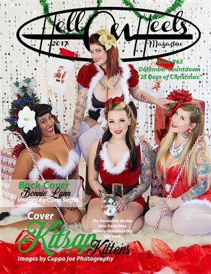 2017 Hell on Heels Magazine Issue #63 December Countdown 25 Days of Christmas
