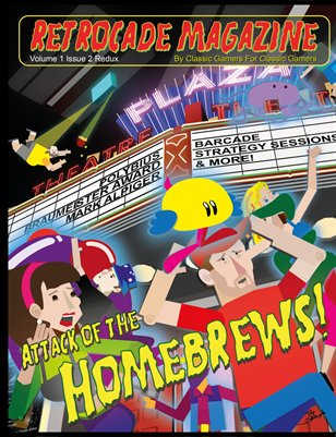 Retrocade Magazine Volume 1 Issue 2 Redux