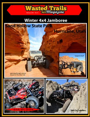 Free Download - Wasted Trails 4x4 Magazine February 2015 vol 21