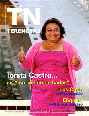 Tonita Castro... Y su cuento de hadas