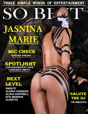 SO BE IT MAGAZINE Issue 12 (Jasnina Marie)