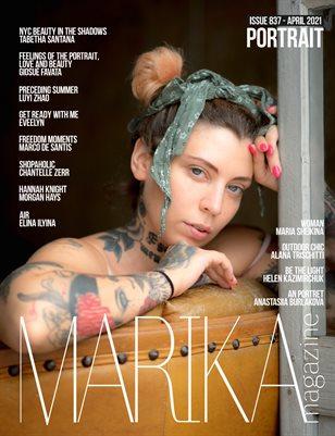 MARIKA MAGAZINE PORTRAIT (ISSUE 837 - APRIL)
