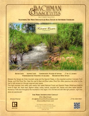 River Run 4 page brochure