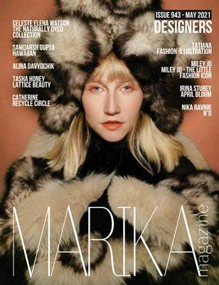 MARIKA MAGAZINE DESIGNERS (ISSUE 943 - MAY)