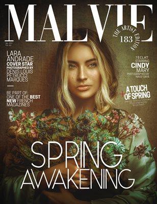 MALVIE Magazine The Artist Edition Vol 183 April 2021