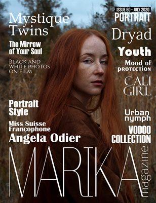 MARIKA MAGAZINE PORTRAIT (July - issue 60)