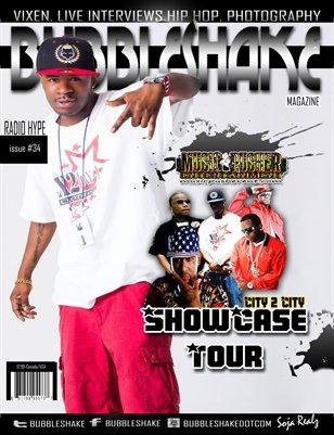 Bubble Shake Magazine issue #34 (Music Pusher Ent Showcase Tour)