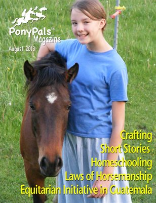 Pony Pals Magazine -- August 2013 -- Vol.3 #3