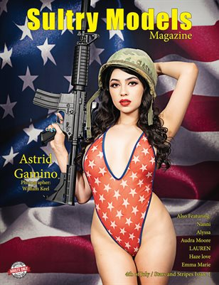 Sultry Models Magazine 4th of July/Stars and Stripes Issue 1