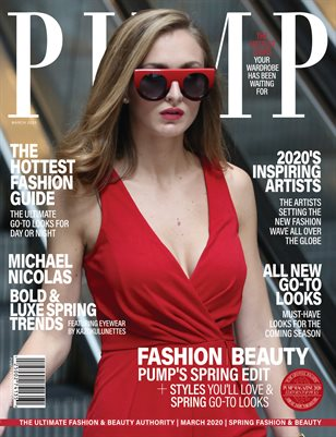 PUMP Magazine - Monthly Issue - March Edition - Vol.3