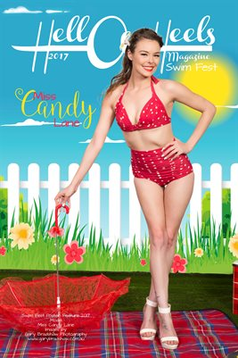 2017 HOH SUMMER SWIM FEST POSTER SERIES Miss Candy Lane
