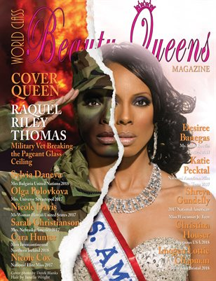 World Class Beauty Queens Magazine with Raquel Riley Thomas