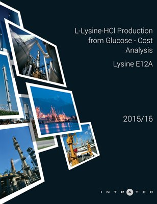 L-Lysine-HCl Production from Glucose - Cost Analysis - Lysine E12A