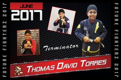 Thomas Torres Cal Poster 2017