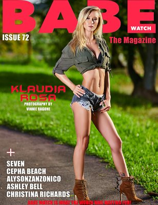 BABE WATCH ISSUE 72 FT. KLAUDIA