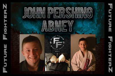 John Pershing Abney Poster
