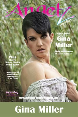 ENCHANTED ANGELZ MAGAZINE COVER POSTER - Cover Model Gina Miller - January 2020