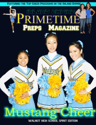 Inland Empire Prime Time Preps Magazine Walnut Cheer Edition April 2012