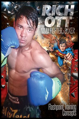 Rich Ott Superman Poster