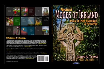 Cover - Book of Irish Blessings & Proverbs, Vol. V, Mystical Moods of Ireland (COVER)