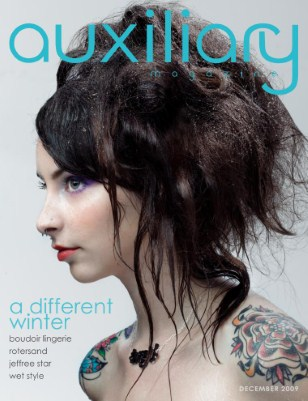 auxiliary magazine : december 09