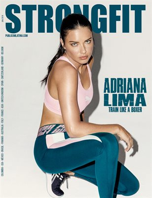 STRONGFIT Magazine - January 2019 - #6 - Adriana Lima