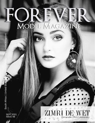 FOREVER Model Magazine BW Issue 48