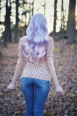 Purple Hair Cosplay II