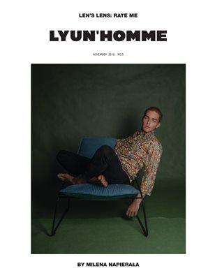 LYUN HOMME ISSUE No.3 (VOL No.1) C1