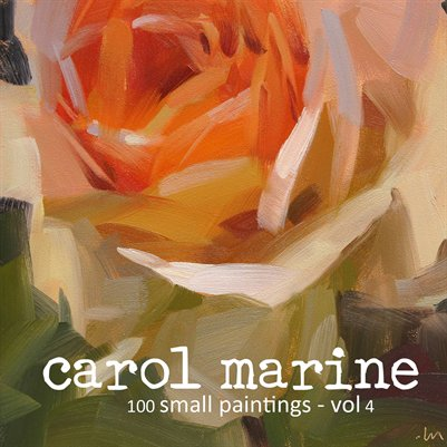 CAROL MARINE - 100 small paintings - vol.4