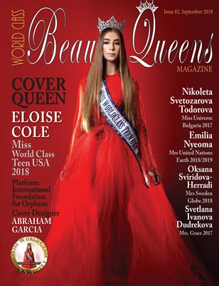 World Class Beauty Queens Magazine Issue 82 with Eloise Cole