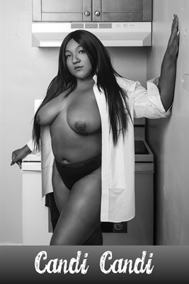 Model Candi Candi In the Kitchen 1 Glamour Poster