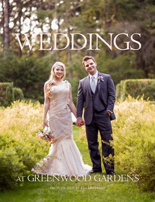 Greenwood Gardens wedding magazine