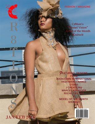 Cr8tions Magazine Jan/ Feb 2017 Issue (Lockdown International Cover)