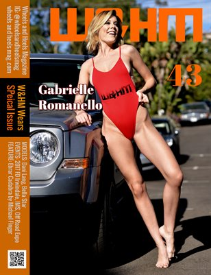 Wheels and Heels Magazine #43 - Gabrielle Romanello