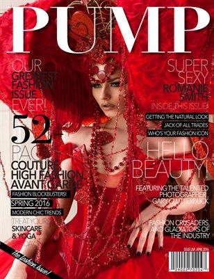 PUMP Magazine Issue 66 - Featuring Romanie Smith