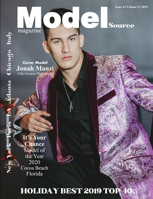 Model Source magazine Issue 15 Volume 11 2019 HOLIDAY BEST TOP 40